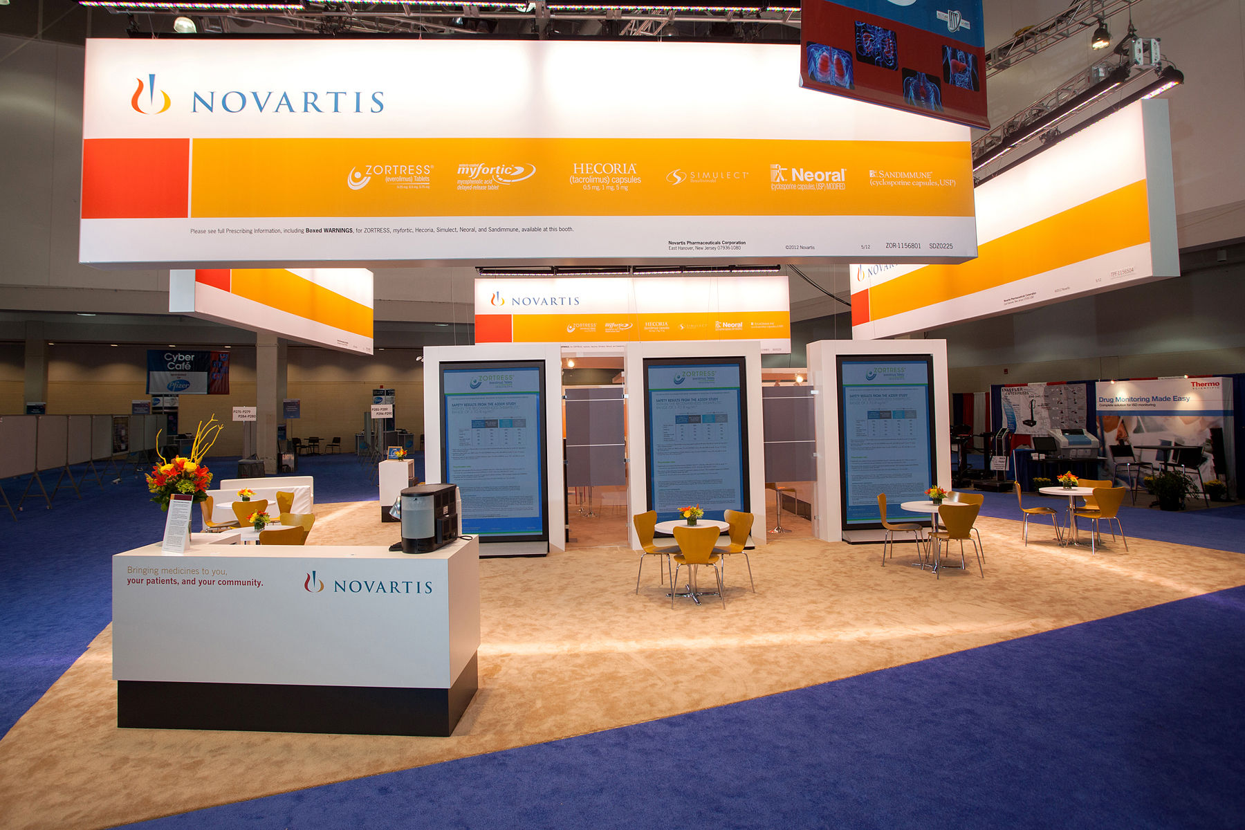 Exhibition Booth Photography : Trade show display cases
